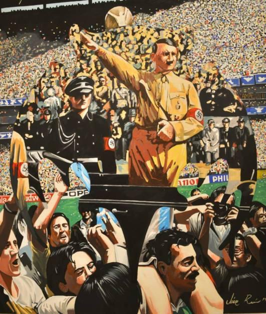 Homenaje al perdedor, 140x120 cm. 2015