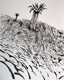 Despegue forzoso, 40x30 cm. 2014