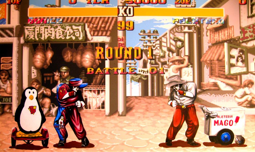 pelea callejera 1